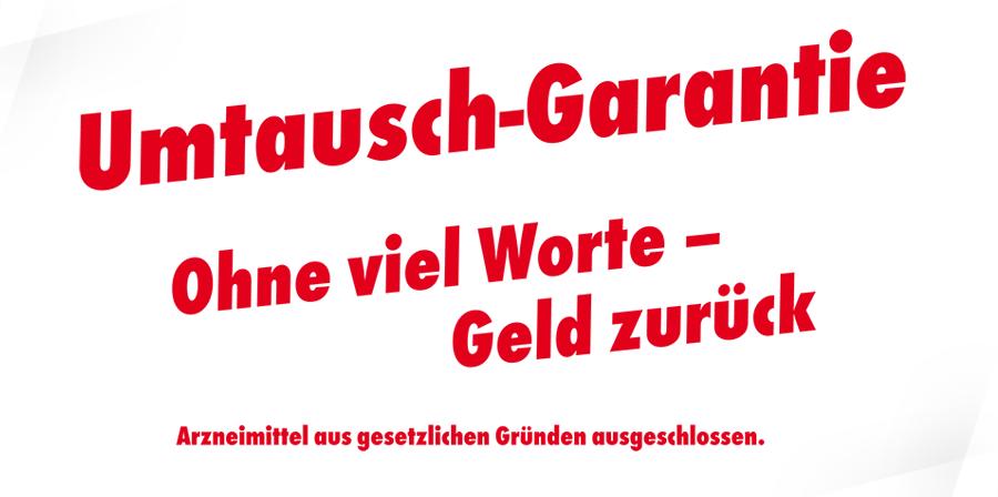 Ahorn-Apotheke Gotha - Umtausch-Garantie
